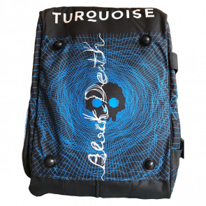 Borsone Beach Tennis Turquoise SUPER PRO BAG BLACK DEATH BLU 2020
