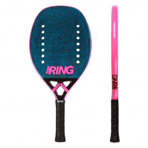 Pala de Tenis Playa Top Ring LOGO BLUE 2020