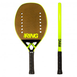 Pala de Tenis Playa Top Ring LOGO GOLD 2020