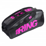 Borsone Beach Tennis Top Ring BAG LARGE NERO - FUCSIA 2020